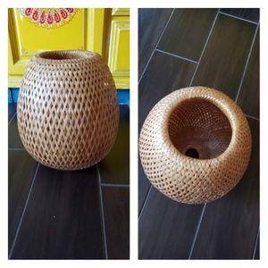 Boho Woven Basket.